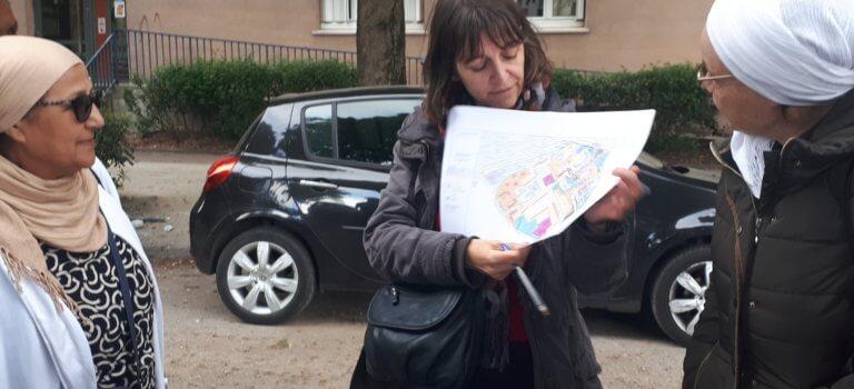 Champigny-sur-Marne: l'action des bailleurs sociaux du Bois l'Abbé évaluée en marchant