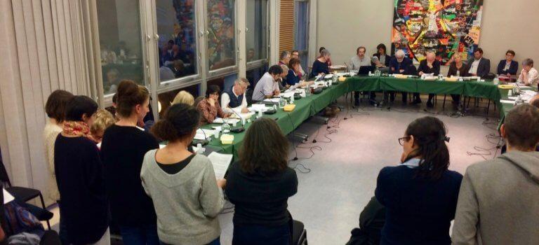 Les parents d'élèves investissent le Conseil municipal d'Arcueil pour parler cantine
