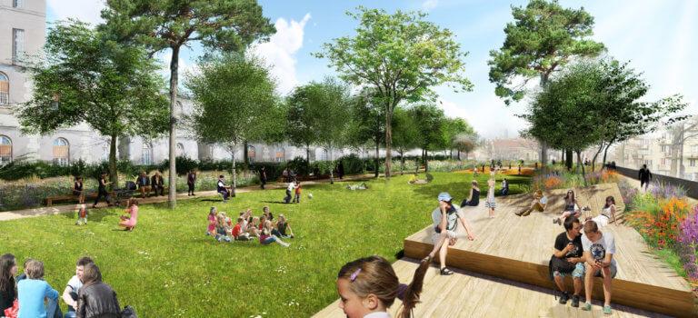 Le Kremlin-Bicêtre: le futur parc urbain fait débat
