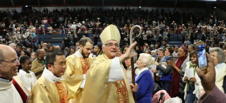 Hommage du diocèse de Créteil à Notre-Dame de Paris