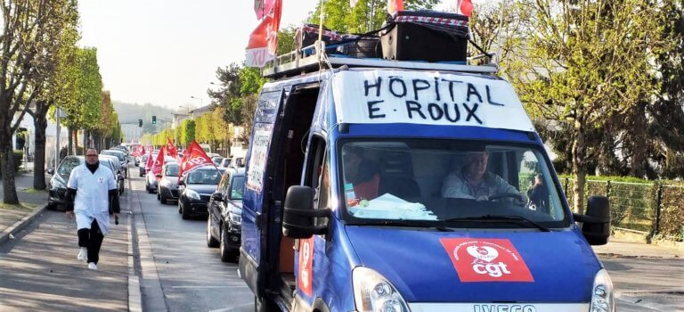 Suppression de lits gériatriques à l'AP-HP : opération escargot de Limeil à Créteil