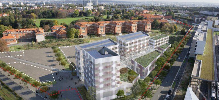 Vitry-sur-Seine: l'Eco-campus des métiers du bâtiment investit Chérioux