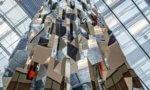Art : Arnaud Lapierre symbolise le vertige du voyageur à Orly 3
