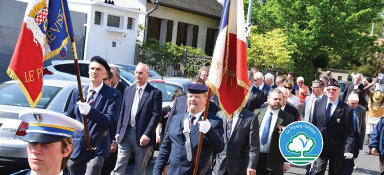 Cérémonie du 8 mai 1945 au Plessis-Trévise