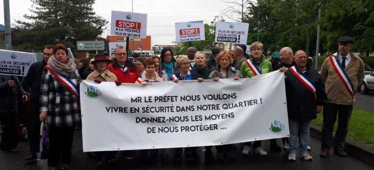 Boissy-Saint-Léger : la Haie-Griselle dit non à la violence