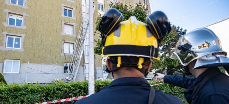Ivry-sur-Seine : la chute d'une nacelle de chantier fait un blessé grave