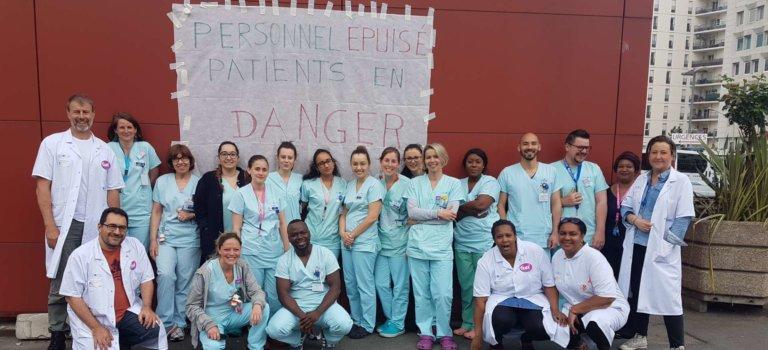 Urgences et gériatrie: deux mobilisations du GHU Mondor à Créteil et Limeil