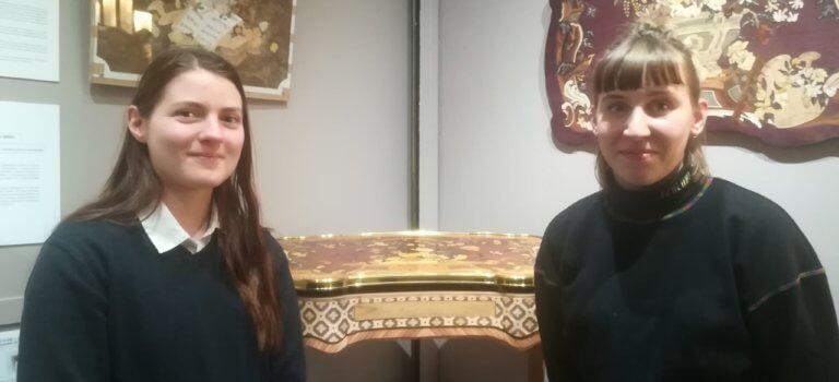 Métiers d'art: les milliers d'heure de travail des lycéens exposés au rectorat de Créteil