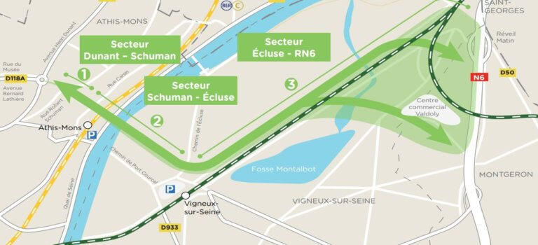 Pôle d'Orly – Essonne : pour ou contre un nouveau pont sur la Seine?