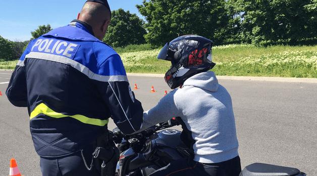 A Rungis, des stages de prévention routière pour sauver les pompiers