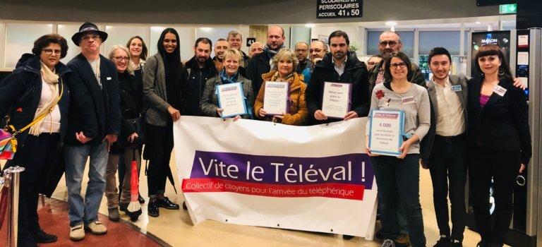 Enquête publique Téléval: 4000 signatures 'pour' dans le sprint final