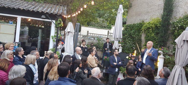 Municipales : Gilles Hagège a lancé sa campagne à Nogent-sur-Marne