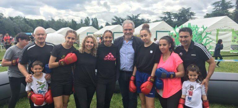 La championnedu monde de boxe a clôturé les Jeux du Val-de-Marne
