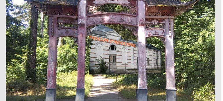 Exposition au Jardin d'agronomie tropicale- pavillon d'Indochine