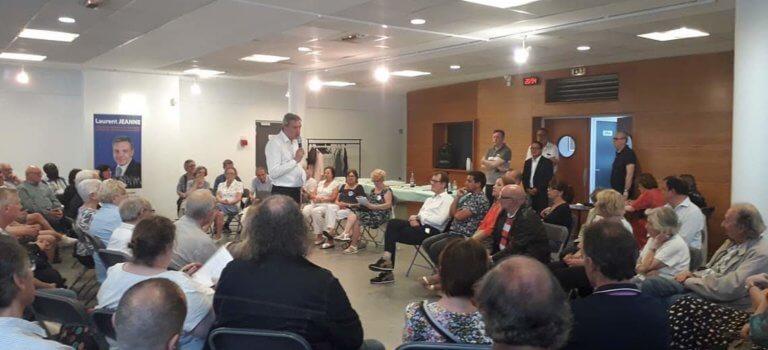 Municipales: Laurent Jeanne lance sa campagne à Champigny-sur-Marne