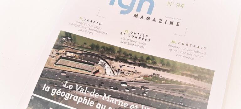 Le magazine de l'IGN consacre son n°94… au Val-de-Marne