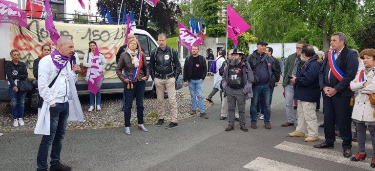 Suppression des lits gériatriques à Limeil-Brévannes: une délégation reçue en préfecture