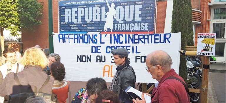 Clôture de concertation animée pour l'extension de l'incinérateur de Créteil