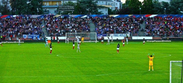 Projection de la finale de la coupe du monde de foot à Villeneuve-Saint-Georges
