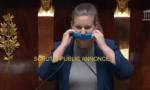 La députée LFI du Val-de-Marne se bâillonne dans l'hémicycle