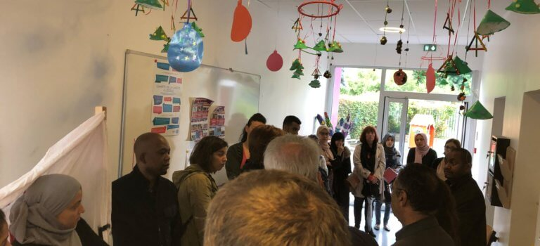Mobilisation contre une fermeture de classe à Boissy-Saint-Léger