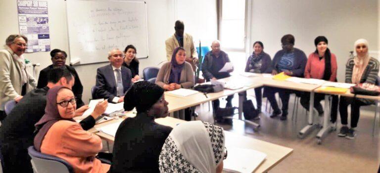 Le travail au long cours de l'Office des migrants à Champigny-sur-Marne
