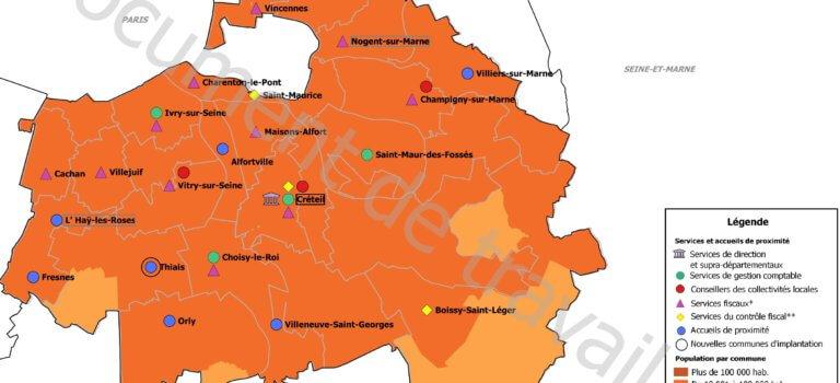 Nouvelle carte des trésoreries en Val-de-Marne: Bercy lance la consultation