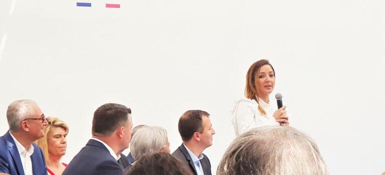 Rachida Kaaout, candidate investie LREM à Ivry-sur-Seine