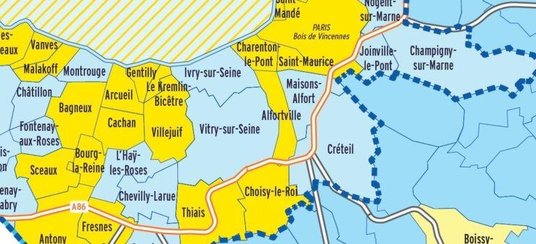 Pollution de l'air: 12 villes du Val-de-Marne interdites aux Crit'Air 5