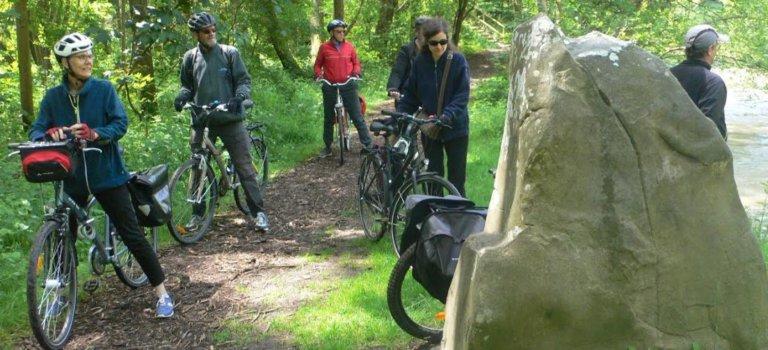 Balade à vélo vers la Forêt Notre-Dame : Les Marmousets