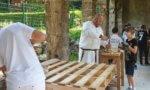 Archéo à l'abbaye de Saint-Maur-des-Fossés: les ados revivent le Moyen-Age