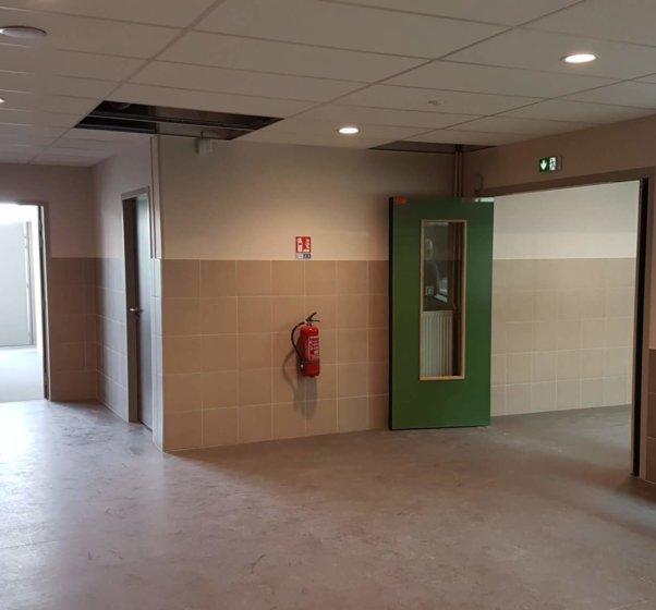 college josette et maurice audin vitry sur seine espace couloirs et puits de lumiere