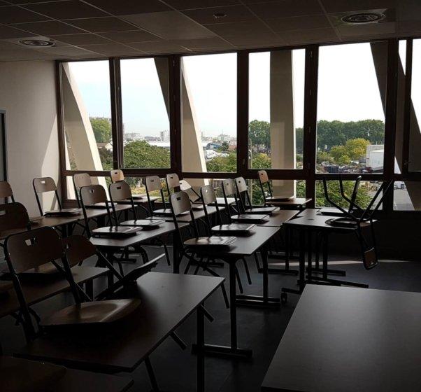 college josette et maurice audin vitry sur seine salle de classe