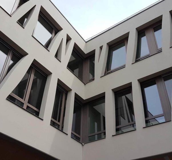 college josette et maurice audin vitry sur seine structure exterieure poteaux