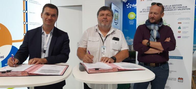 Dalkia va prolonger le réseau géothermie de Villeneuve-Saint-Georges à Valenton