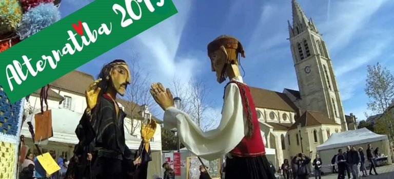 Hameau des Alternatives du Collectif Alternatiba à Vitry-sur-Seine