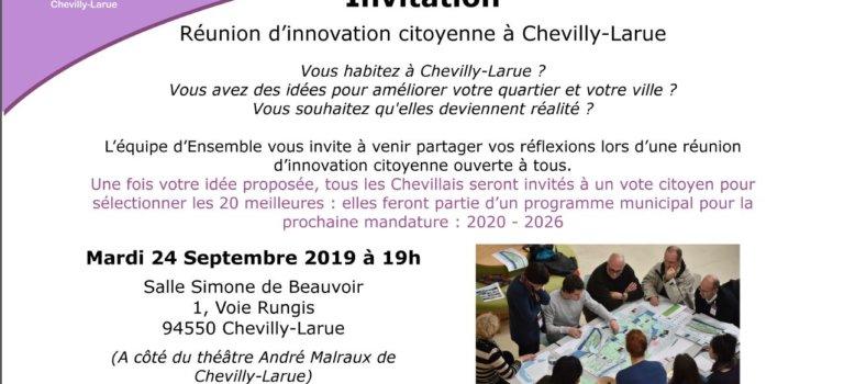 Municipales à Chevilly: réunion de Yacine Ladjici