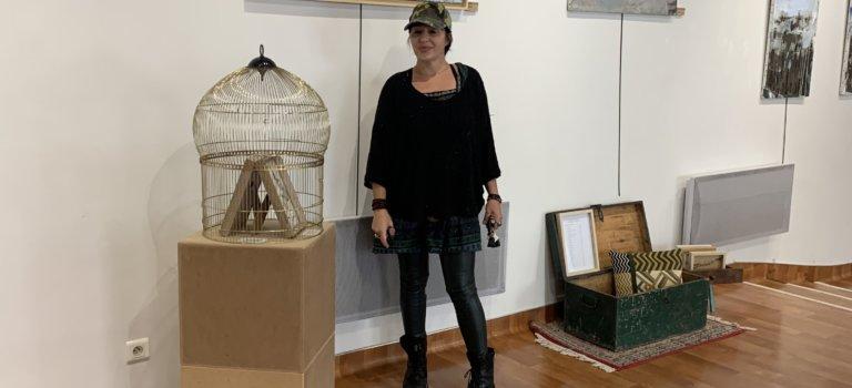 Exposition peintures abstraites de Déborah Stigmann à Alfortville