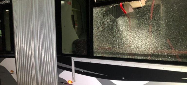 Limeil-Brévannes : un bus du réseau Strav attaqué au mortier