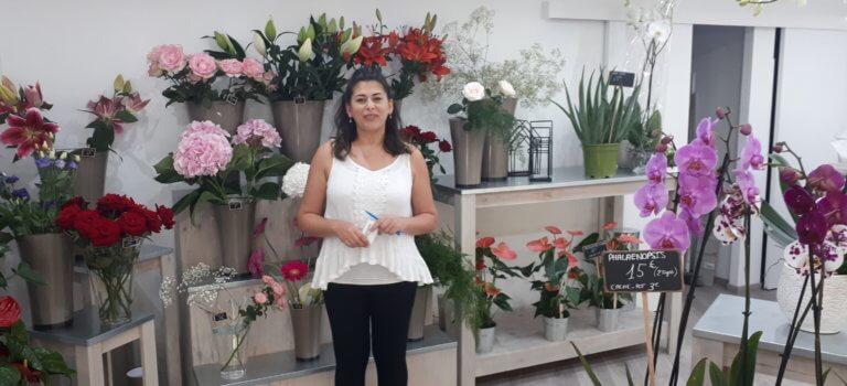 A Vitry-sur-Seine, une fleuriste ouvre après préemption de fonds de commerce par la ville