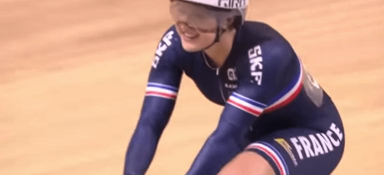 Cyclisme sur piste : sacre européen pour la cristolienne Mathilde Gros