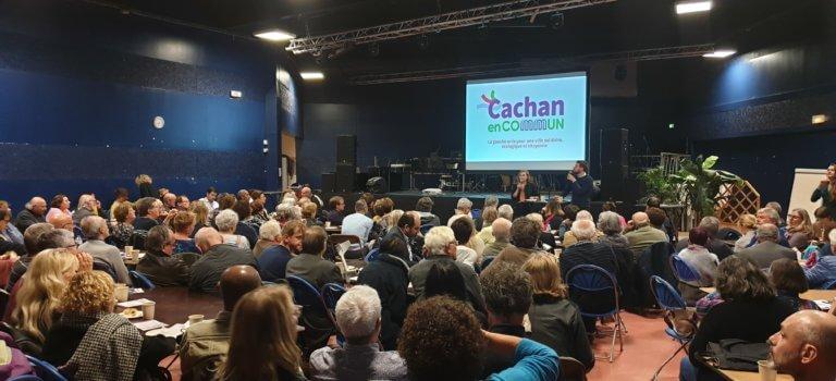 Municipales à Cachan: Hélène de Comarmond scelle l'union à gauche