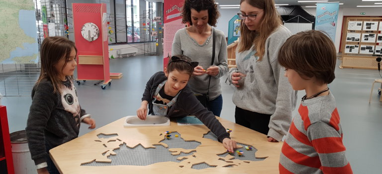 Vitry-sur-Seine : atelier trajectoires – le monde à ma portée