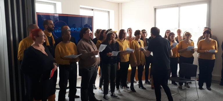 L'UCPA et les Scouts et Guides de France déjà comme chez eux à Arcueil