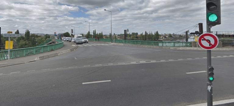 Villeneuve-Saint-Georges: la Dirif estime qu'il y a moins de bouchons autour du pont
