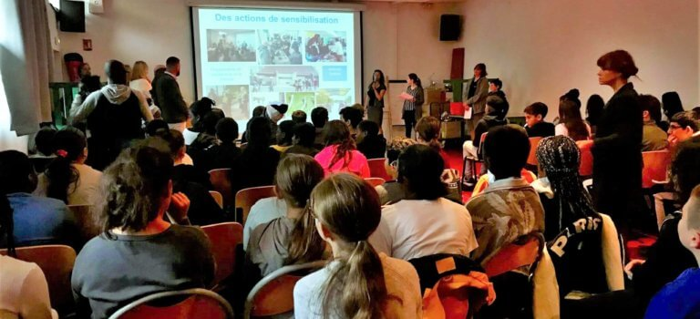 Champigny sur Marne : les collégiens de Willy Ronis s'engagent pour le climat