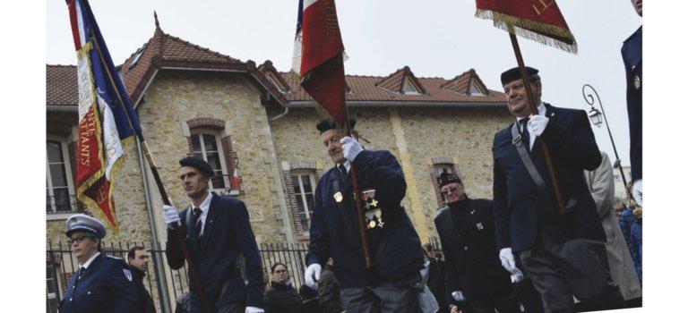 Commémoration de l'Armistice au Plessis-Trévise