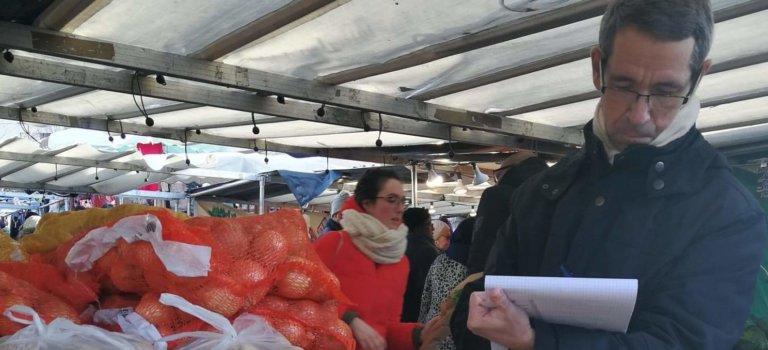Contrôles sur le marché de Vitry-sur-Seine: ça rigole pas
