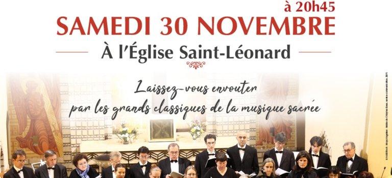 Concert de Noël – Les chanteurs d'Eole à L'Haÿ-les-Roses
