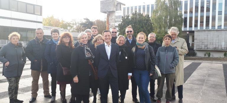 Municipales 2020 à Fontenay-sous-Bois: grand mercato au centre